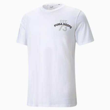 Franchise Short Sleeve Men's Basketball Tee, Puma White, small-GBR