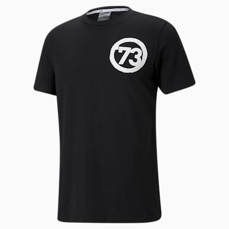 T-shirt de basketball à manches courtes, franchise, homme, Puma Black, petit