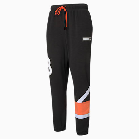 Franchise Knitted Men's Basketball Pants, Puma Black, small