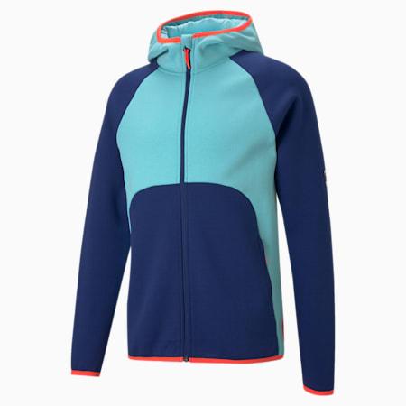Dime Men's Basketball Jacket, Elektro Blue-Angel Blue, small