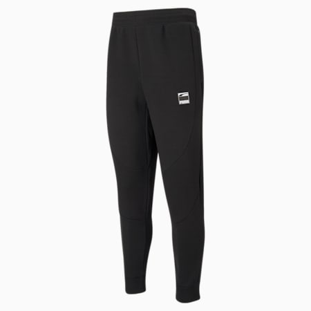 Dime Men's Basketball Pants, Puma Black-Puma Black, small
