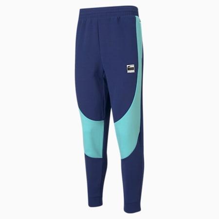 Pantalon de basketball Dime, homme, Bleu Elektro - Bleu angélique, petit