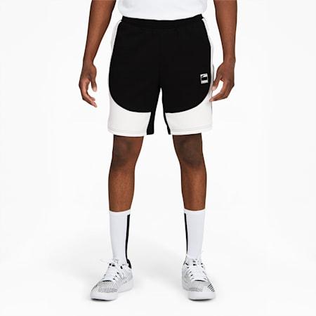 Shortspara básquetbol Dime para hombre, Puma Black-Puma White, pequeño