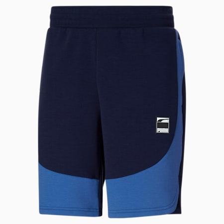 Short de basketball Dime, homme, Saphir étoilé - Bleu caban, petit