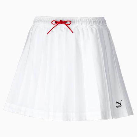 PUMA x PUMA Women's Tennis Skirt, Puma White, small