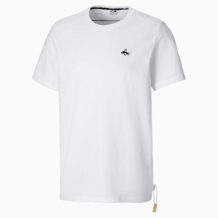 T-shirt con grafica Rudolf Dassler Legacy uomo, Puma White, small