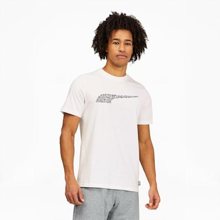 Camiseta PUMA x MR. DOODLEpara hombre, Puma White, pequeño