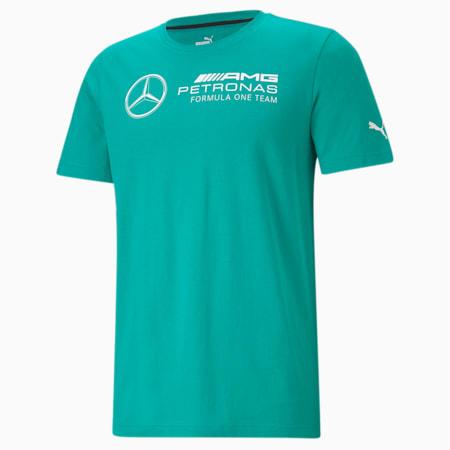Mercedes F1 Logo Men's Tee, Spectra Green, small-GBR