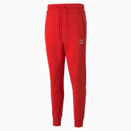 Classics Tech Men's Sweatpants, High Risk Red, small