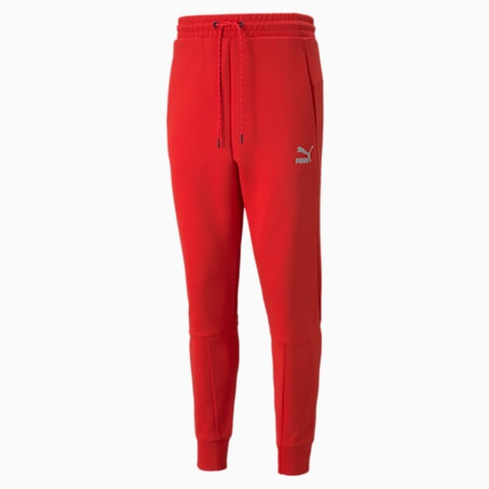 Classics Tech joggingbroek heren, High Risk Red, small
