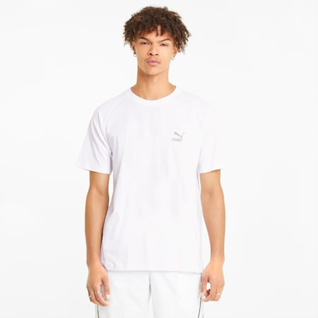T-shirt Classics Tech uomo, Puma White, small