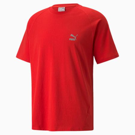 Classics Tech Herren T-Shirt, High Risk Red, small