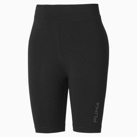 Women's Cycling Shorts, Puma Black, small