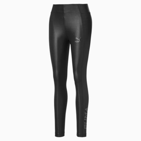 Shiny Women's Leggings, Puma Black, small