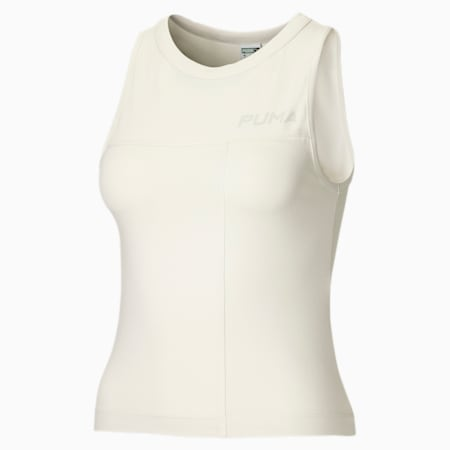 Top senza maniche donna, Vaporous Gray, small