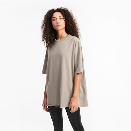 Übergroßes Damen T-Shirt, Atmosphere, small