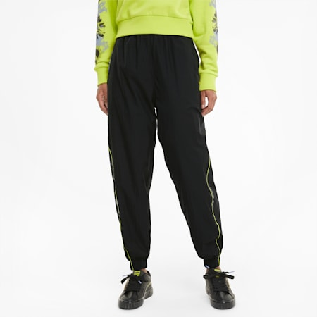 Evide Woven Women's Track Pants, Puma Black, small