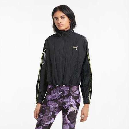 Evide Woven Women's Track Jacket, Puma Black, small-GBR