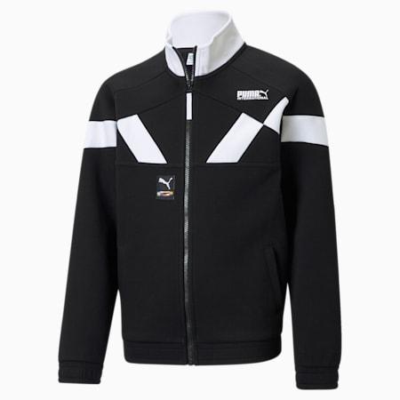 PUMA International Jugend Trainingsjacke, Puma Black, small