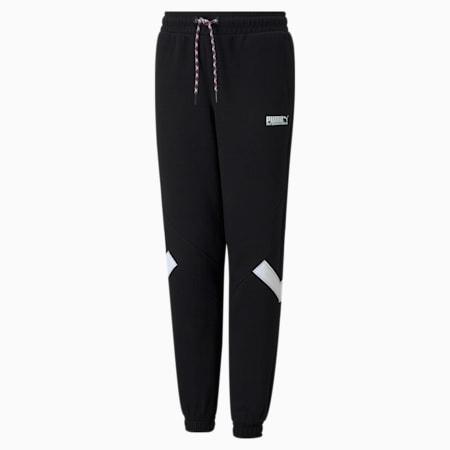 INTL Game Boys' Track Pants, Puma Black, small