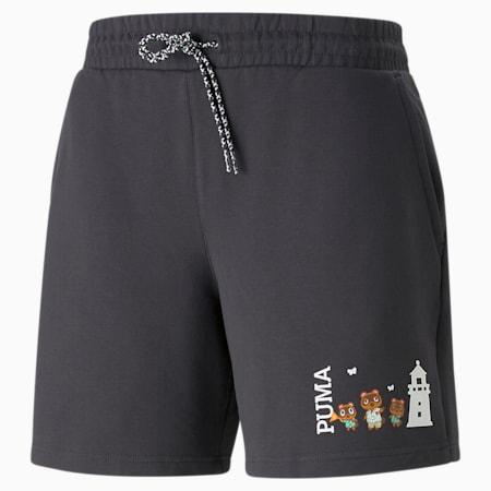 푸마 x AC 쇼츠 반바지/PUMA x AC Shorts, Phantom Black, small-KOR