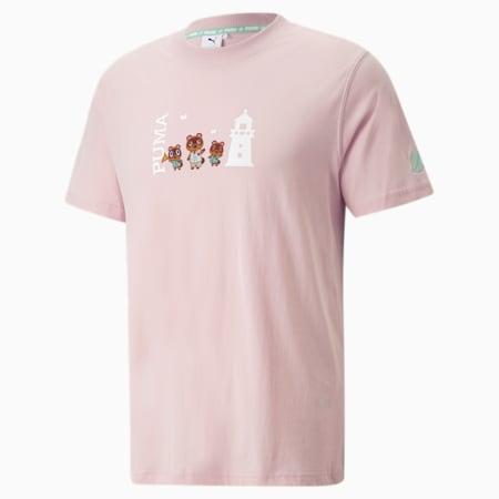 PUMA x あつまれ どうぶつの森 半袖 Tシャツ, Lotus, small-JPN