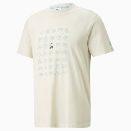 Camiseta PUMA x Animal Crossing™: New Horizons, Puma White, pequeño