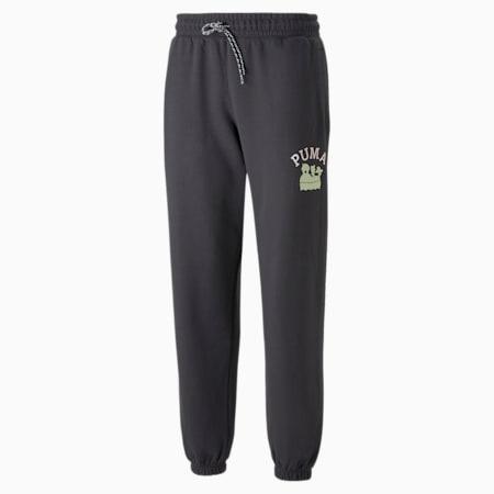 푸마 x 동물의 숲 스웨트 팬츠/PUMA x ACNH Sweatpants, Phantom Black, small-KOR