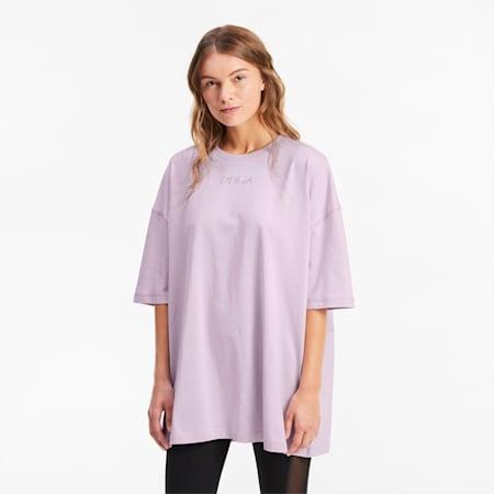 Powiększona damska koszulka, Winsome Orchid, small