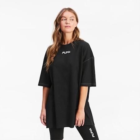 Übergroßes Damen T-Shirt, Puma Black, small