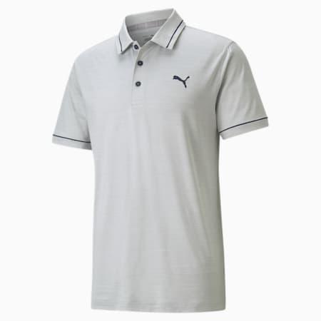Polo de golf CLOUDSPUN Monarch, homme, Taille haute bruyère-blazer bleu marine, petit