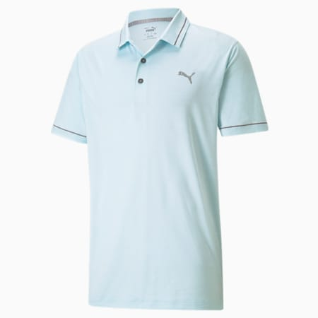 CLOUDSPUN Monarch Men's Golf Performance Polo, Blue Glow-Quiet Shade, small-IND