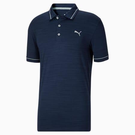 Camiseta tipo polo para golf CLOUDSPUN Monarch para hombre, Navy Blazer-High Rise, pequeño