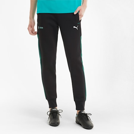 Mercedes F1 Men's Sweatpants, Puma Black, small