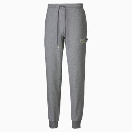 PUMA x MR DOODLE Men's Sweatpants, Medium Gray Heather, small-GBR