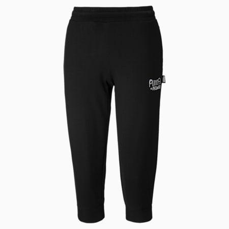 Damskie spodnie dresowe PUMA x MR DOODLE, Puma Black, small