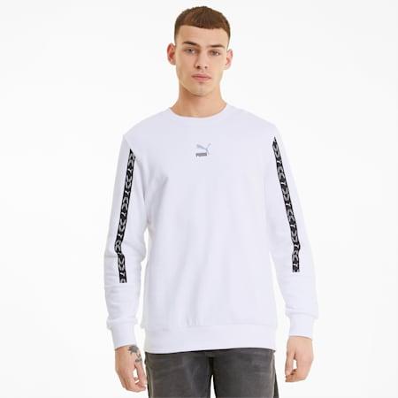 ELEVATE Crew Neck Men's Sweater, Puma White, small