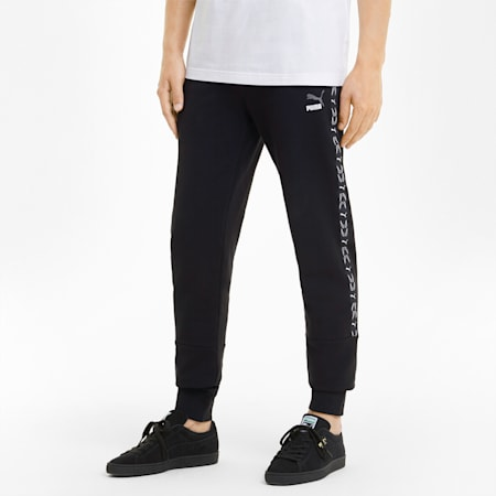 Elevate Men's Sweatpants, Cotton Black, small
