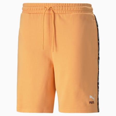 "Elevate 8"" Herren Shorts, Peach Cobbler, small"