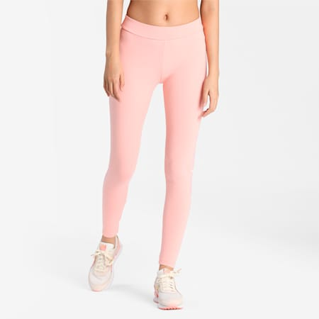 Elevate Women's Leggings, Apricot Blush, small-IND