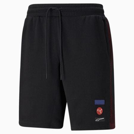DECOR8 Men's Shorts, Cotton Black, small-SEA