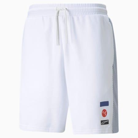 DECOR8 Men's Shorts, Puma White, small