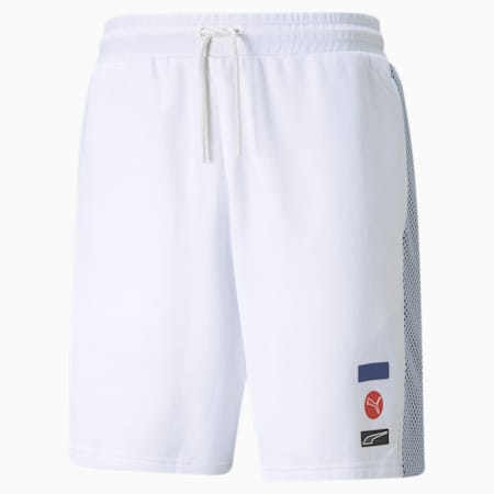 Shorts para hombre DECOR8, Puma White, small