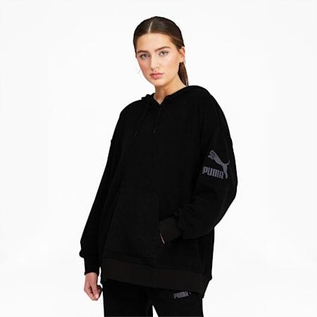 Winter Classics Women's Hoodie, Puma Black, small