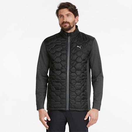 Cloudspun WRMLBL Men's Golf Jacket, Puma Black, small-GBR