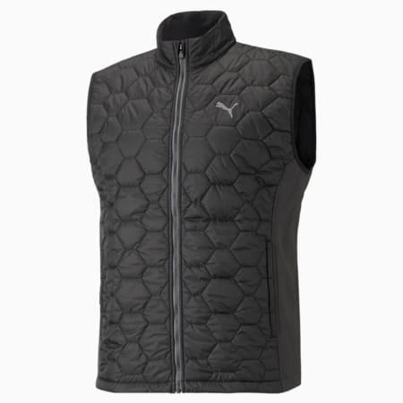 Cloudspun WRMLBL Men's Golf Vest, Puma Black, small-GBR