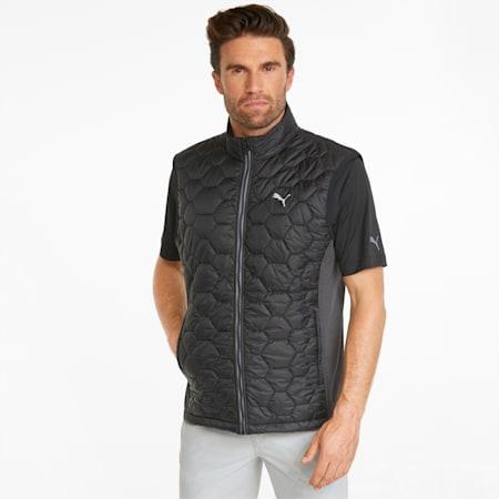 Cloudspun WRMLBL Men's Golf Vest, Puma Black, small