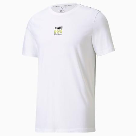 Męski T-shirt PUMA x HELLY HANSEN, Puma White, small