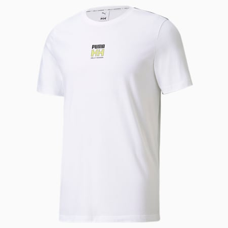 PUMA x HELLY HANSEN Herren T-Shirt, Puma White, small