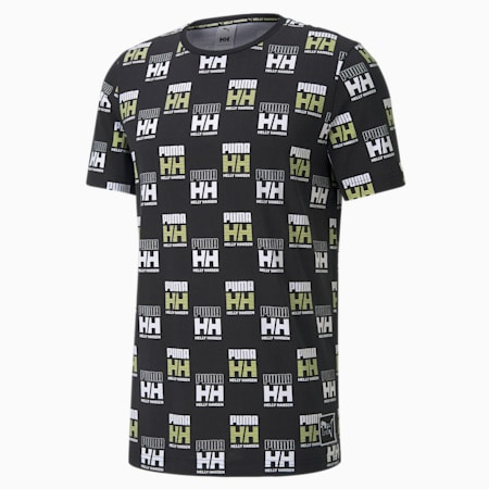 PUMA x HELLY HANSEN Printed Men's Tee, Puma Black, small